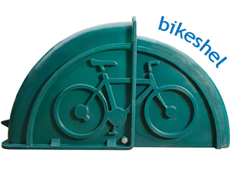 BikeShel closed position for all sizes